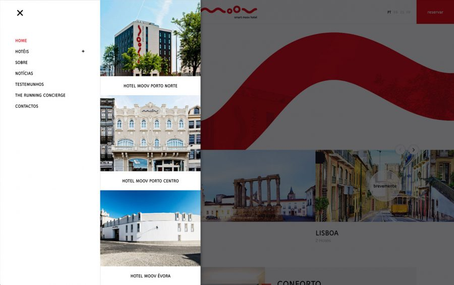 We Are Innov, Hotel Moov, Web