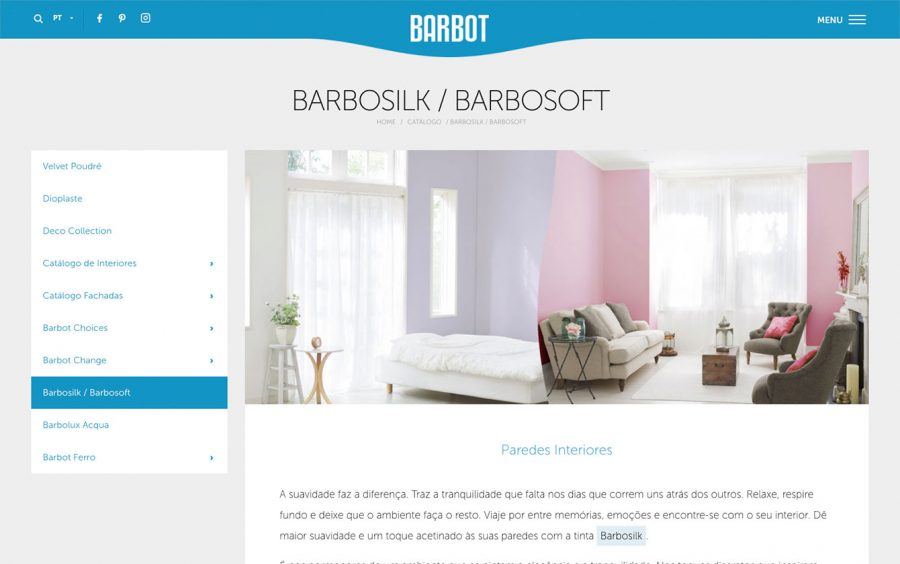 We Are Innov, Tintas Barbot, Web