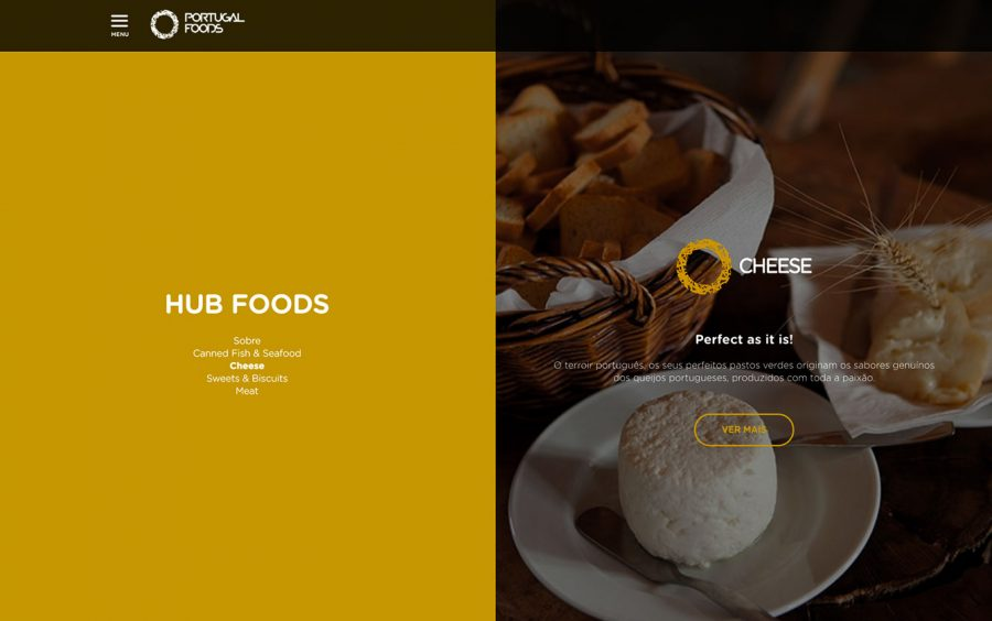 We Are Innov, PortugalFoods, Web