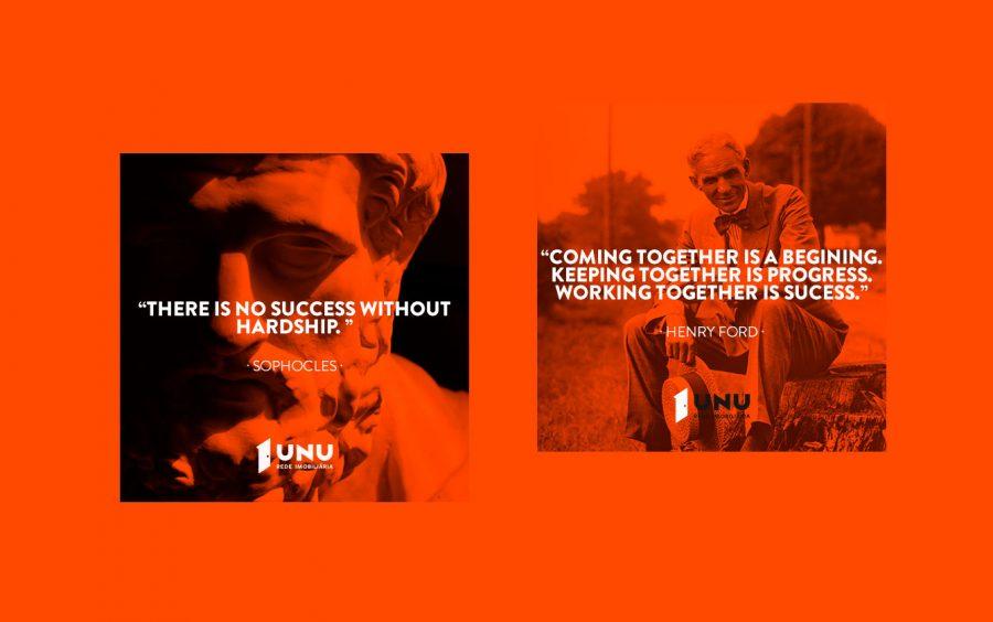 We Are Innov, UNU – Rede Imobiliária, Redes Sociais
